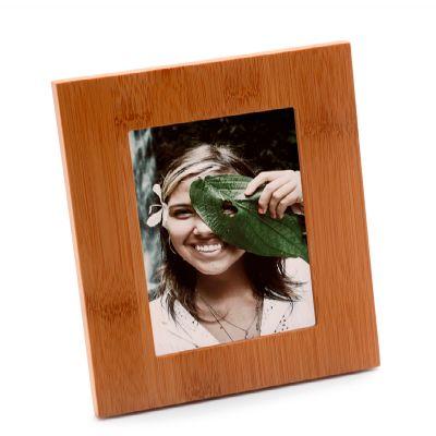 marca-laser - Porta retrato vertical em bambu.