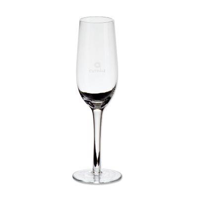 Marca Laser - Taça de vidro personalizada para champanhe 240 ml (a granel).