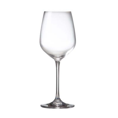 Taça de vidro personalizada para vinho 380 ml (a granel).