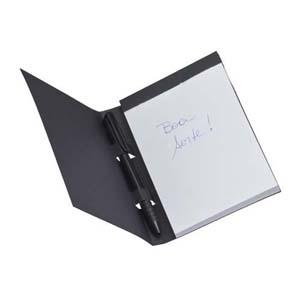 Faber-Castell - Black Note Personalizado - Capa em Color Plus 240 g Preto e exclusiva textura - Bloco com 100 folhas offset branca 63 g. Acompanha 1 Esferogr�fica New...