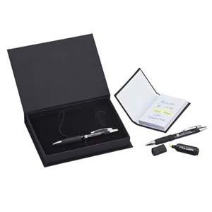 Faber-Castell - Kit Staff Personalizado - �tima op��o de presente executivo, kit completo e sofisticado.