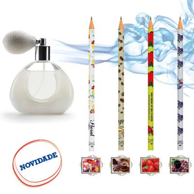 Faber-Castell - Lápis com aroma.