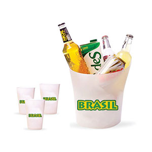 skill-brindes-promocionais - Balde de gelo com capacidade para 4 litros