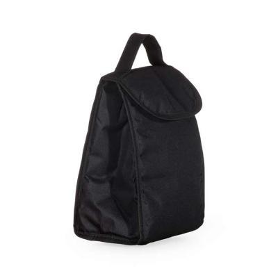 Bolsa térmica 4,2 litros com alça de mão, material externo de nylon. Acompanha plaquinha para per...