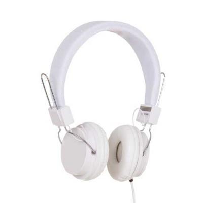 skill-brindes-promocionais - Headfone estéreo com microfone, material em plástico resistente com haste revestida de espuma e alças ajustáveis com fone giratório. Microfone acoplad...