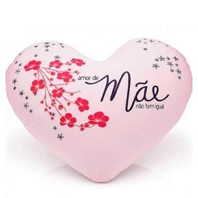 Almofada Coração personalizada