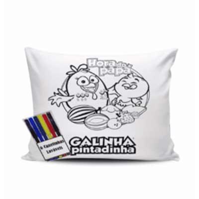 Almofada para colorir personalizada