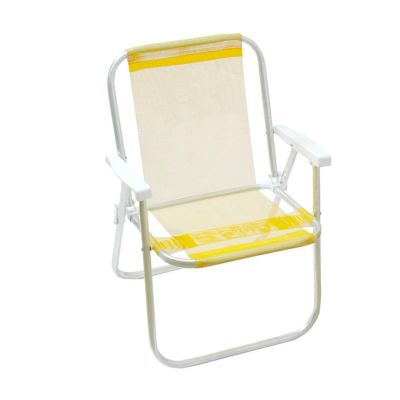 Skill Brindes Promocionais - Cadeira de alumínio para praia