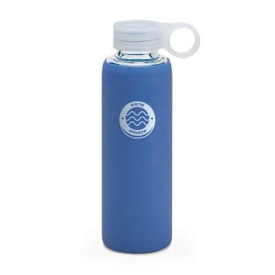 Squeeze. Vidro borossilicato. Com tampa em PP e bolsa em silicone. Capacidade: 380 ml. Food grade...