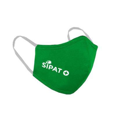 Máscara de proteção Verde personalizada