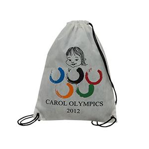 Skill Brindes Promocionais - Mochila saco confeccionada em TNT