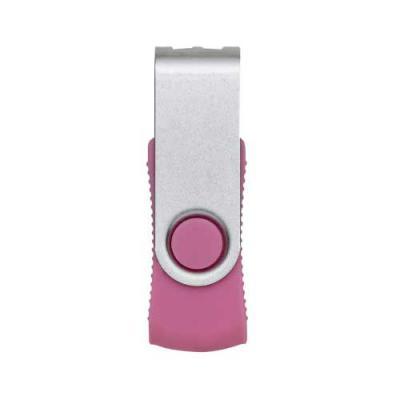 """skill-brindes-promocionais - Pen drive de metal giratório 4gb, parte interna preta em plástico resistente com relevo nas laterais. Possui dois """"furos"""" na parte em metal que poderá..."""
