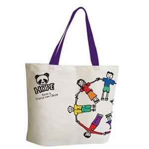Skill Brindes Promocionais - Sacola ecológica Ecobag personalizada com a marca de sua empresa
