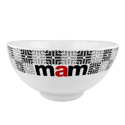 Mãos & Arte - Bowl tipo Cereal Branca em Cerâmica