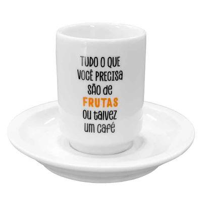 Copo de café de porcelana - Mãos & Arte