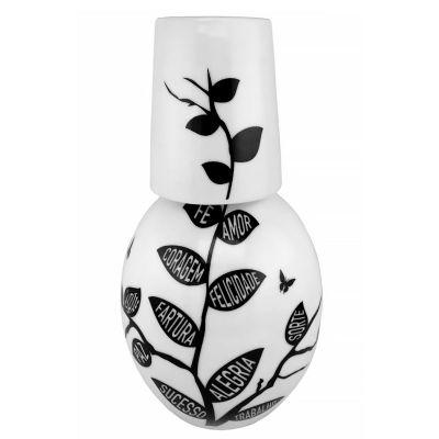 Mãos & Arte - Moringa em porcelana