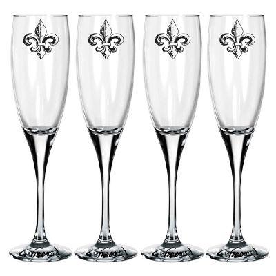 Jogo de taças de champagne - Mãos & Arte