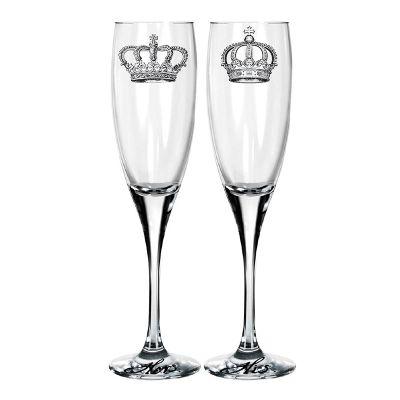 Mãos & Arte - Conjunto de taças de champagne