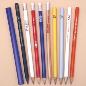 Madson Brindes - Lápis de madeira, com ou sem borracha, personalizados.