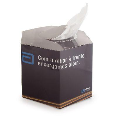 Lenço de papel descartável