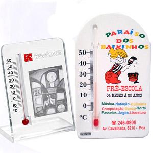 madson-brindes - Termômetro ambiente confeccionado em diversos modelos.