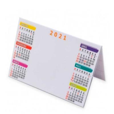 Calendários em PVC ou papel, com suporte em capa de CD. Adquira já o calendário personalizado com...