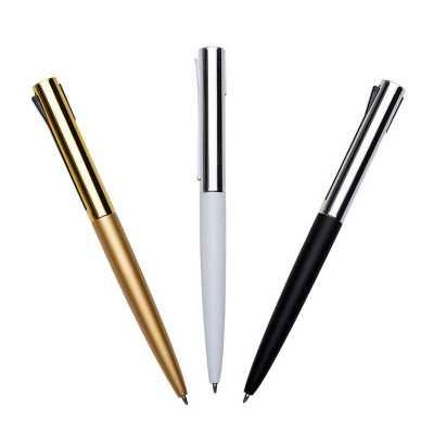 o-medico-das-canetas - Caneta Esferográfica Semi-Metal Clássica