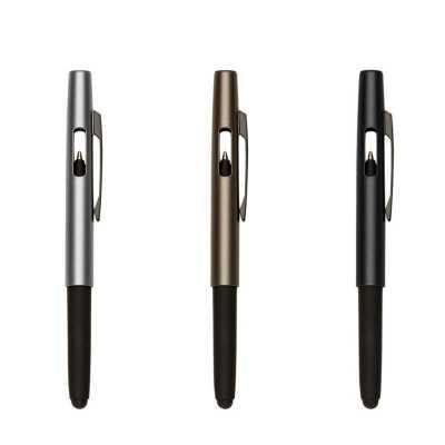 o-medico-das-canetas - Caneta Esferográfica Plástica Com Ponteira Touch