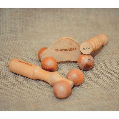Amor Perfeito Massageadores em Madeira - Kit massageador
