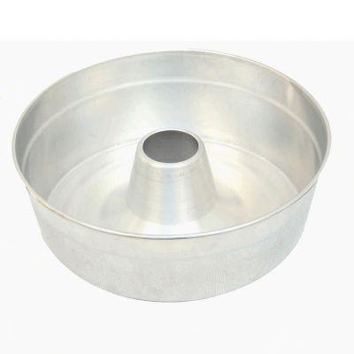 Forma de bolo redonda com furo aberto em alumí... - 108879