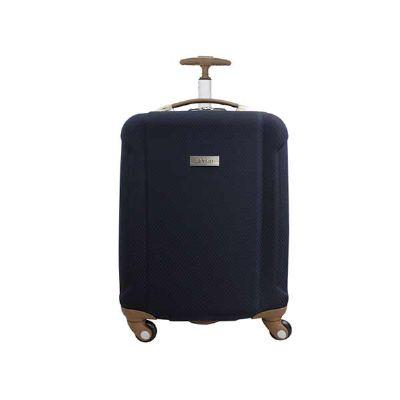 - As malas da Linha Fênix são confeccionadas EVA revestido com Poliéster.  - Sistema de puxador embutido; - Rodas com giro 360°; - Abertura 180° com div...