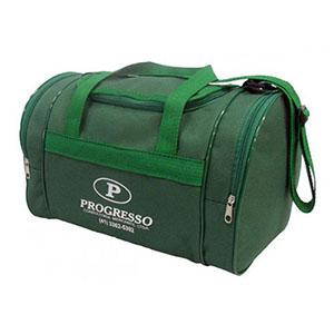 GND Promocional - Bolsa de viagem em nylon 600 com bolsos laterais