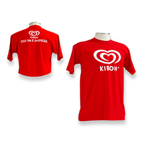 GND Promocional - Camiseta personalizada com opções de cores.