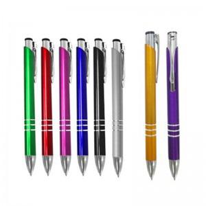GND Promocional - Caneta plástica com diversas opções de cores.
