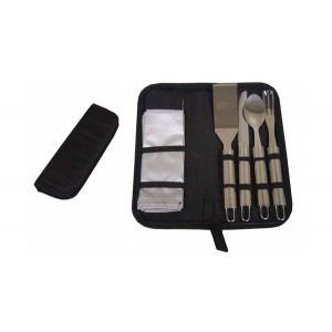 GND Promocional - Kit churrasco com 5 peças.
