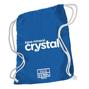 GND Promocional - Mochila saco em nylon 70 resinado, com cordão