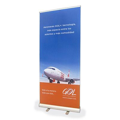 Porta Banner Dupla face Roll-up