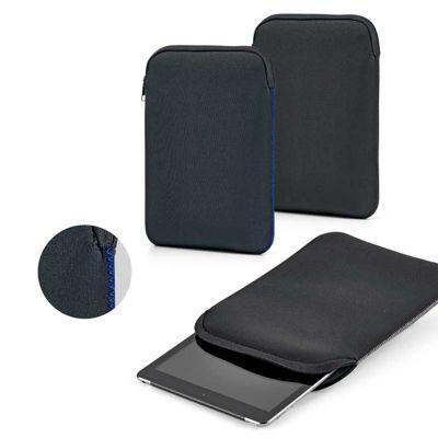 """Suprema Brindes - Pasta para Tablet confeccionada em soft shell de alta densidade. Para Tablet 7"""" e 10.1"""", personalizada com logotipo e dizeres."""
