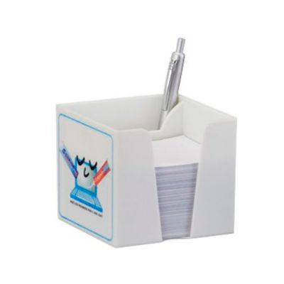 Porta-recado com porta-canetas personalizado - Fabrika de Chaveiros