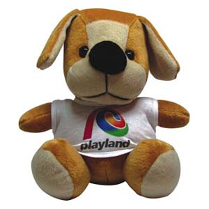 Cachorro pelúcia Playland. - Light Toys
