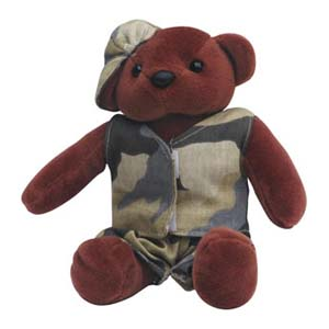 Mascote de pelúcia Shopping D.Pedro - Coleção Ursos - Mod. 02. - Light Toys