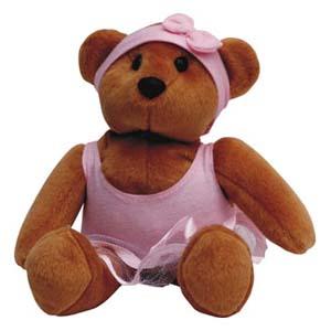 Mascote de pelúcia Shopping D. Pedro - Coleção Ursos.
