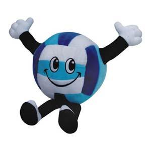 Mascote de pelúcia bola Ações Sociais Reunidas. - Light Toys