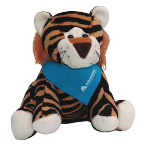 Mascote de pelúcia Tigre Advantan. - Light Toys