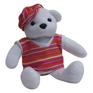 Light Toys - Mascote de pelúcia Shopping D. Pedro - Coleção Ursos - Mod. 03.