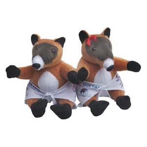 Mascotes de pelúcia Babys Quatis Dixtal. - Light Toys