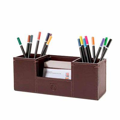 couro-impresso - Porta Canetas PCA42