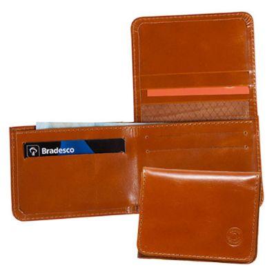 couro-impresso - Carteira personalizada em couro ou sintético.