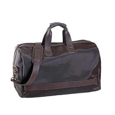Bolsa de viagem em couro ou sintético