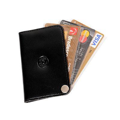 couro-impresso - Porta-cartão personalizado